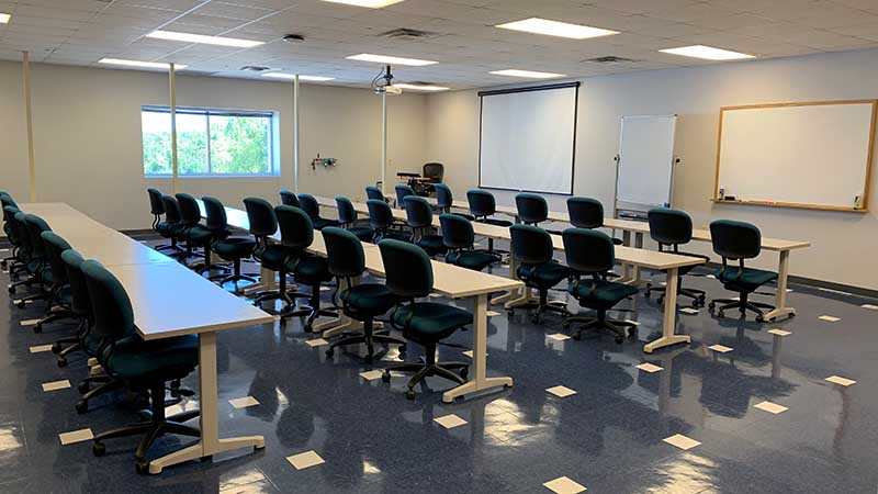 Educational Classroom Room 207